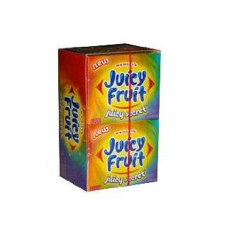 Juicy Fruit Juicy Riddle Gum, 15 stick Slim Packs (Pack of 10