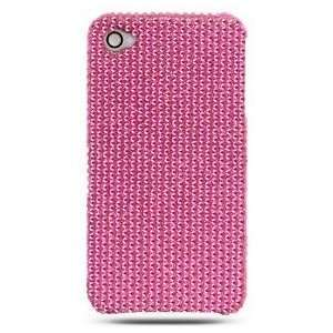 Apple iPhone 4G Full Diamond Case   Pink (Rear Only