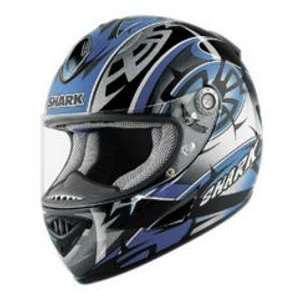 Shark RSR2 MUGGERIDGE BK_BLU MD MOTORCYCLE Full Face