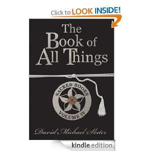 The Book of All Things Sacred Books David Slater  Kindle