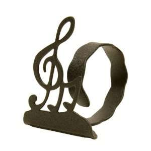 CLEF NOTE NAPKIN RING