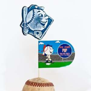New York Mr. Mets Lollipop   Berry 1 Grocery & Gourmet Food