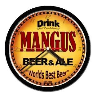 MANGUS beer and ale cerveza wall clock: Everything Else