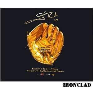 Ironclad St. Louis Cardinals Ironclad Scott Rolen Autographed Gold