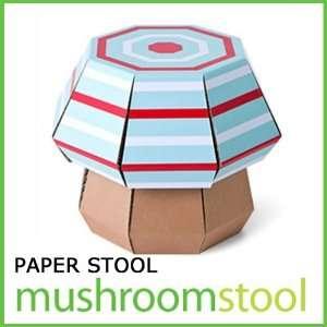 Children Kids Creative Furniture Safe Paper Stool Mini