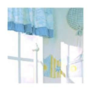 Little Boy Blue   Tab Top Valance Baby