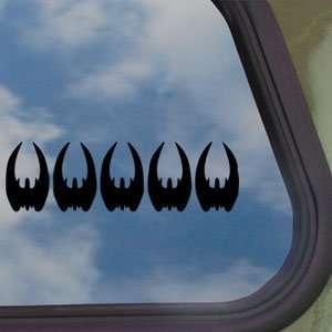 Cylon Kill Battlestar Galactica Black Decal Car Sticker
