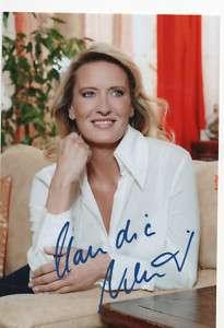sexy CLAUDIA KLEINERT handsigniertes Foto Autogramm