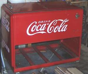 Coca Cola Cooler (no motor chest type) 1930s PERFECT