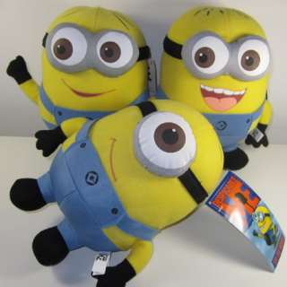 Despicable Me 10 Minion Plush Soft Toy Figure