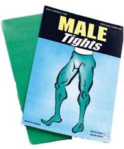 MENS GREEN TIGHTS HULK ROBIN HOOD GIANT PETER PAN ELF