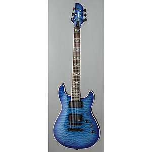 Dragonfly Deluxe Electric Guitar   See Thru Blue  ActiveMusician
