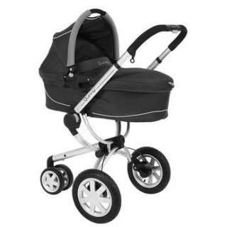 Quinny Buzz 3 Wheel Baby Stroller   Rocking Black