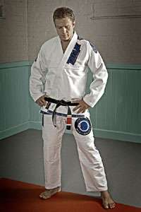 brand, and designed by Nicolas Gregoriades. Roger Gracie black belt