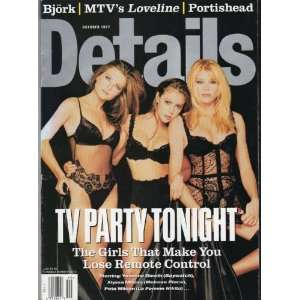 Details Magazine October 1997 (TV PARTY TONIGHT  THE GIRLS