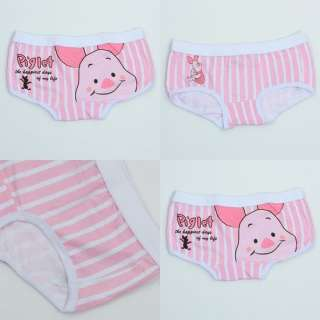 1PC Cartoon Boxer Brief Pants Shorts Women Woman Lady Underwear Cotton