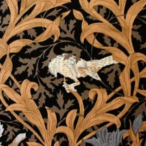 Patchwork Fabric Freedom William Morris Iris Black fq