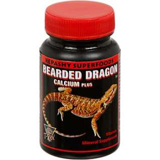 Rex Bearded Dragon Calcium Plus   Bearded Dragon Vitamin Supplements