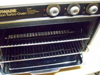 Farberware Turbo Convection Oven w/ 2 Racks NICE CLEAN