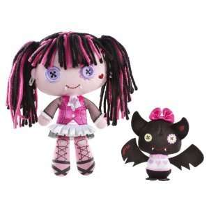 NIB Monster High Friends plush Draculaura and Count Fabulous