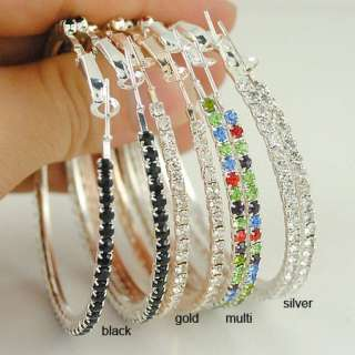 Round Earrings Basketball Wives Circle Hoops Earring Fashion Jewelry