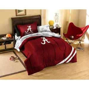 NCAA   Alabama Crimson Tide Twin Comforter Set Sports