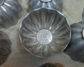 Lot of 12 Vintage Aluminum Jello Molds