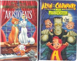 The Aristocats & Alvin & Chipmunks Meet Frankenstein