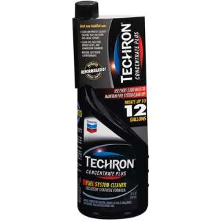 Chevron Techron Concentrate Plus Fuel System Cleaner, 12
