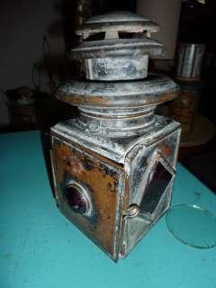 Antique Vintage Automobile Car Carriage Buggy lamp light