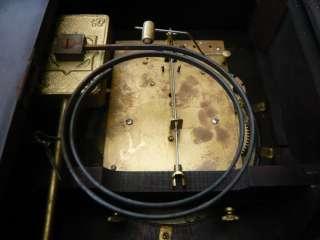 VINTAGE OLD VICTORIAN ANTIQUE LARGE MANTLE CLOCK HAC WURTTEMBERG