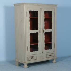 Antique Swedish Armoire/China Cabinet