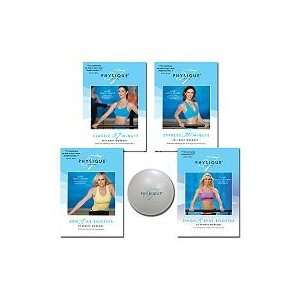 57 Complete Body Workout with 4 DVDs & Fitness Ball