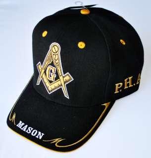 Prince Hall Masonic Baseball Cap Freemason Baseball Hat