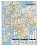 New York City Subway Puzzle Map