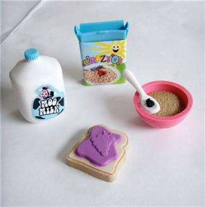 For American Girl DOLLS  BREAKFAST SET Play Food/Eraser