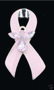 Pin / Brooch   Breast Cancer, Pink Ribbon, Angel