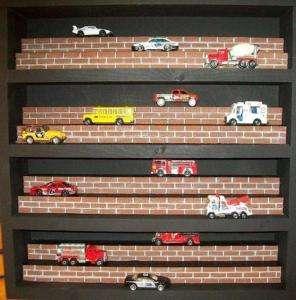DISPLAY CASE / MATCHBOX CARS / Diecast / HOT WHEELS CAR