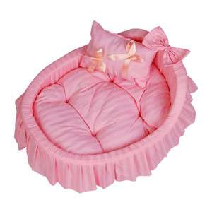 Princess Pink Pet Dog Cat Handmade Bed/House sofa (S,M.L) S22