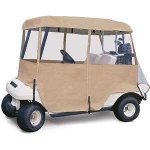 Classic Accessories Deluxe 4 Sided Golf Car Enclosure, 4
