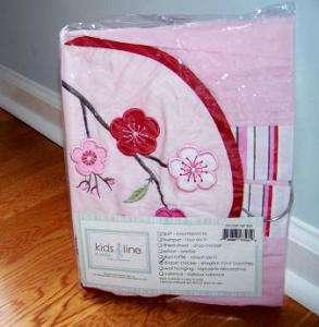KIDSLINE CHERRY BLOSSOM PINK FLOWER BABY DIAPER STACKER