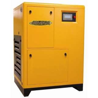 Emax 20 HP 3PH Dual Volt Rotary Screw Air Compressor Tools
