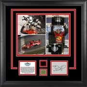 Daytona 500 Winner Framed 11x14 Photograph with Tire, Green Flag and