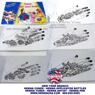 BOOK ARABIC HENNA DESIGN TATTOOING TATTOO BODY MEHNDI