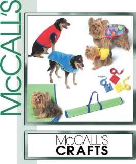Dog/Pet Clothes Craft SEWING PATTERN Coat/Leash/Vest