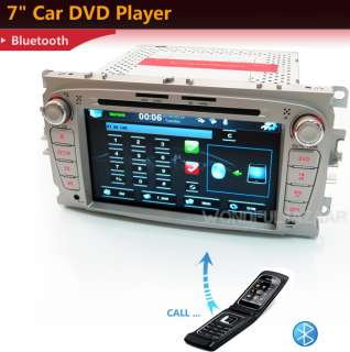 CAR DVD PLAYER GPS RADIO FOR FORD MONDEO FOCUS DVB T