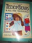 Easy To Make Teddy Bears craft pattern Toy doll book