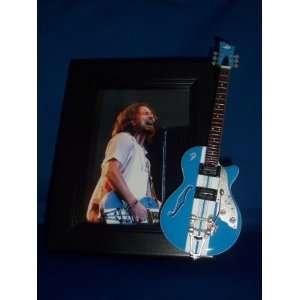 PEARL JAM EDDIE VEDDER Guitar Picture Frame Everything