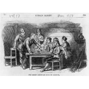 Ethan Allen,1738 1789,Green Mountain Boys in Council