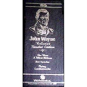 John Wayne   Collectors Limited Edition (3 Video Box Set)
